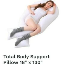 RB & Co. Total Body Maternity Pillow Support Pregnancy Or Back Support 130 x 16