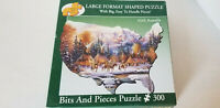 Bits & Pieces 300 Piece Jigsaw Puzzle KIRK RANDLE: Home of the Brave USA Shaped
