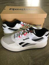 Reebok Bolton Essential Sneaker, White/Skull Grey/Black/neon, 11 M US