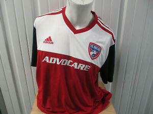 ADIDAS MLS FC DALLAS SEWN 2XL PRIDE OF TEXAS JERSEY 2018/20 KIT NEW W/ TAGS