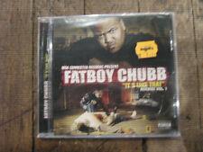 Fatboy Chubb It's Like That Mixdisc Vol 1 RARE Midwest US Kansas City Rap CD NEW