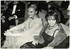 Photo Claudia Cardinale et Michéle Morgan Vers 1960