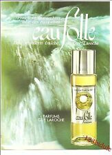 Publicité Parfum EAU FOLLE Guy Laroche Paris  Années 70 Advertising Vintage AD