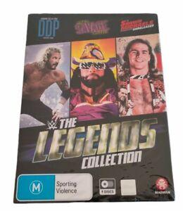 WWE The Legends Collection DVD 9 Disc Set Wrestling Box Set R4 Brand New Sealed