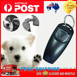 NEW Dog Pet Puppy Cat Training Clicker Whistle  STOP BARKING color AU seller