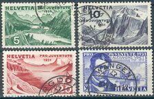 Schweiz, Lot Marken,Mi.-Nr.246/49o,522/24o,545/49o,+ Block 17o,pracht