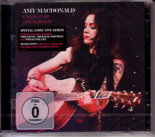 CD + DVD (NEU!) . AMY MacDONALD - Under Stars live Berlin 2017 (McDonald mkmbh