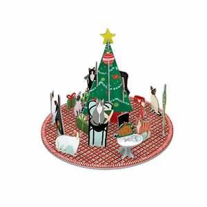 Roger la Borde Pop & Slot 3D Fireside Cats Advent Calendar