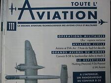 TOUTE L'AVIATION 111 ASIANA ET EVA AIR / CONVAIR B58 / UHU / HUNTING   IAI ARAVA