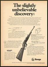 Vintage 1970s ad for the Savage Model 99A