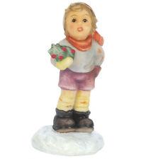 New M.I. Hummel Miniature Figurine Christmas Carol Statue Boy Figure Tree