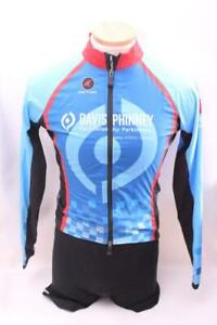 New Pactimo Womens Race Jacket Blue Cycling Bike Lightweight Davis Phinney Small