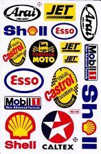 "D84 Sponsor Sponsors Racing Tuning Sticker Decal 1 Sheet 10,5""x7"" / 27x18 cm"