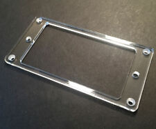 Guitar Hardware Humbucker Pickup MOUNTING RING Trim Bezel - Acrylic - CLEAR