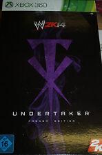 WWE 2K14 Undertaker Phenom Special Edition inkl Sarg Blechdose XBOX 360, NEU&OVP