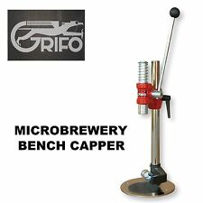 BENCH CAPPER  MICROBREWERY COMMERCIAL SUPER GRIFO TCSG FOR SODA AND BEER BOTTLES