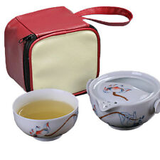 Tea set 1 Pot 1 Cup elegant gaiwan Beautiful easy teapot Chinese kettle tea pot