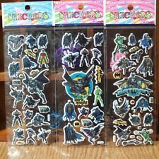 Batman sticker sheets buy 5 get 5 free stickers party supplies lolly bag