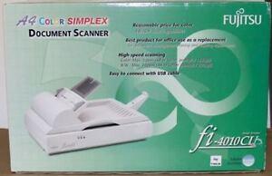 New In Box Fujitsu fi-4010CU Flatbed Scanner (similiar to fi5220C / fi6770)