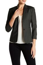 NWOT Theory Technical Linworth Wool Jacket Blazer, Fir Green,sz 0, $515~@67% OFF