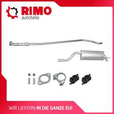 Fiat Grande Punto 1.4i 77Ps komplette Auspuffanlage Auspuff Anbausatz neu Kit