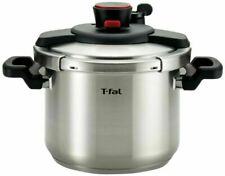T-fal 7114000462 Clipso Stainless Steel 6.3-Qt Pressure Cooker