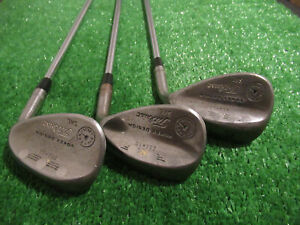 CUSTOME PORTED & WEIGHTED TITLEIST VOKEY OIL CAN WEDGE SET 52* 56* 60* STEEL RH