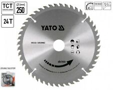 Circular Saw Blade Saw hm-attachment 250 X 30 mm 24 Tooth