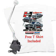 HURST Comp Plus 4 Speed Shifter Ford Mustang 1965-1973 Top Loader, FREE T SHIRT