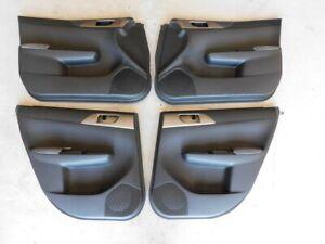 Subaru Impreza WRX GRB STi 2008-14 Interior Door Card Panel Trim Set #5