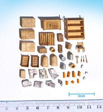 Miniature Workshop Scenery complete set HO OO scale model railway diorama built
