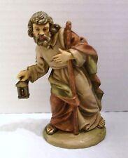 "Vintage Fontanini 4"" Scale Joseph from Nativity Scene, Marked Italy 11/3"