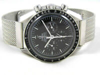 REFINED STEEL MESH WATCH STRAP BRACELET FOR OMEGA SPEEDMASTER 20mm WATCH