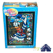 Tenyo Disney DONALD DUCK Stained Glass Puzzle 266pc