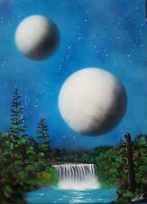 Original Spray Art painting 50x70 cm