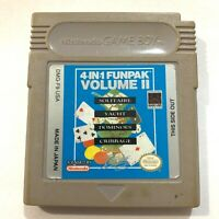 4-In-1 Funpack Nintendo Original GameBoy Game - Tested - Working!