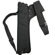 Archery Arrow Quiver Holder 3 Tubes Back Waist Shoulder Bag Pouch Bow Target