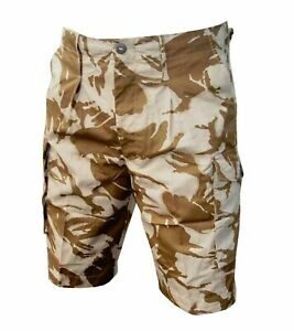 Desert Shorts - Various Sizes - Summer Camo Military Cadet Army - Used