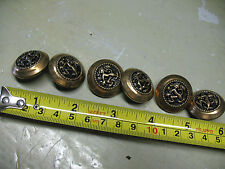 BUTTONS   (6)  FIRE  DRAGON    LOOP  BACK   1 '' DIAMETER  EXCELLENT