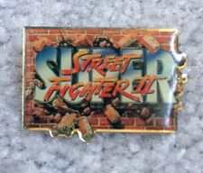 Super Street Fighter 2 Pin Promotional Metal Game RARE - USA SHIPPED