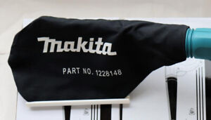 Makita 122814-8 Dust bag efficient collection of dust 1228148 for DUB182Z Blower