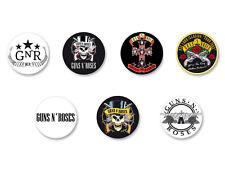Lot Pack Badge Button Ø38mm Guns N' Roses GN'R GNR Hard Rock USA