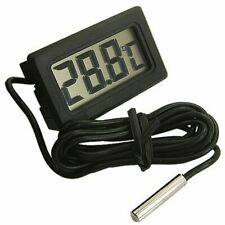New Digital LCD Fish Tank Aquarium Marine Water Thermometer Temperature Black