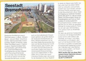 Bremerhaven, Werbekarte ngl F8480