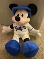 LA Dodgers MLB Walt Disney Mickey Mouse Baseball Plush Toy Doll Los Angeles 2016
