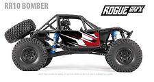 Axial RR10 Bomber Body Graphic Wrap Skin- Go Fast Red