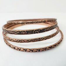 Copper Bangle Bracelets Boho