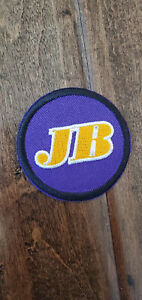 """2012-13 LOS ANGELES LAKERS JERRY BUSS JB AUTHENTIC 2"""" COMMEMORATIVE JERSEY PATCH"""