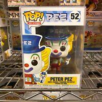 """Funko Pop Ad Icons : PEZ : PETER PEZ #52 Vinyl Figure w/0.5mm Case """"MINT"""""""