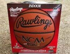 A Rare/Vintage Rawlings Composite Leather Indoor Official Size Basketball Edge